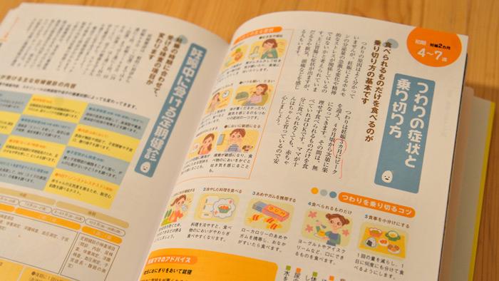 「胎教CD付き はじめての妊娠と出産」を読書中