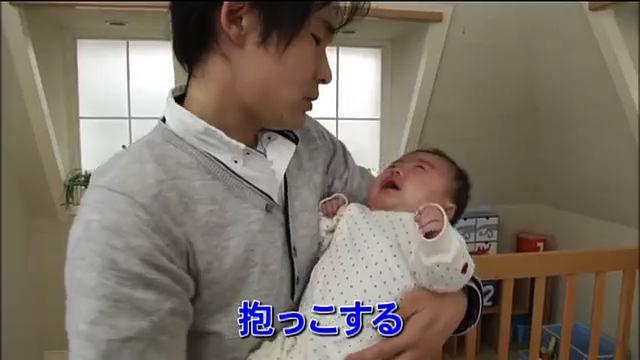 """乳幼児揺さぶられ症候群の予防と赤ちゃんの""""泣き""""への対処法の動画『赤ちゃんが泣きやまない』"""