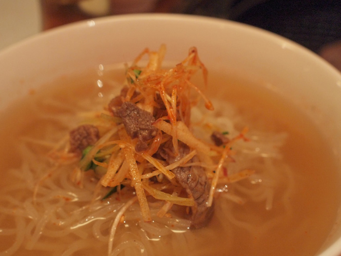 焼肉芝浦 三宿の冷麺