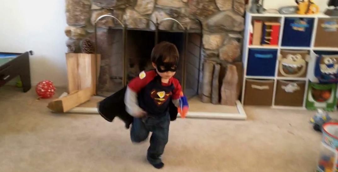 映画会社ドリームワークスの特殊効果担当者が、息子をスーパーヒーローに!