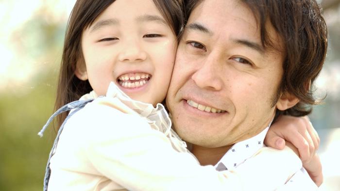 父親と子ども(イクメン)