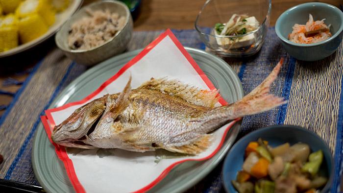 お食い初め「鯛」