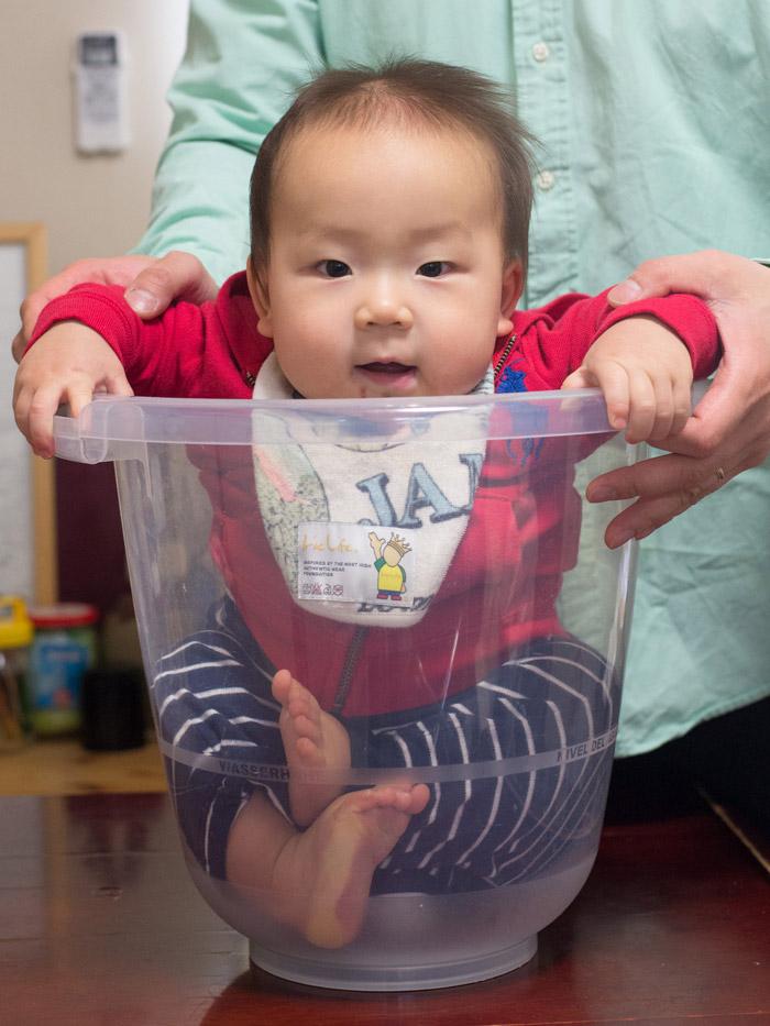 生後10ヶ月の赤ちゃん、タミータブ