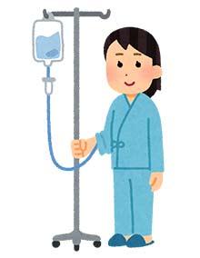 入院中の患者さん
