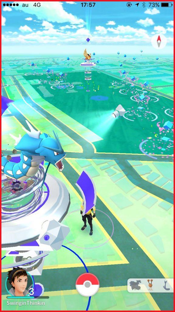 東京・世田谷公園(Pokémon GO)