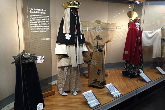 江戸時代の火消しの衣装