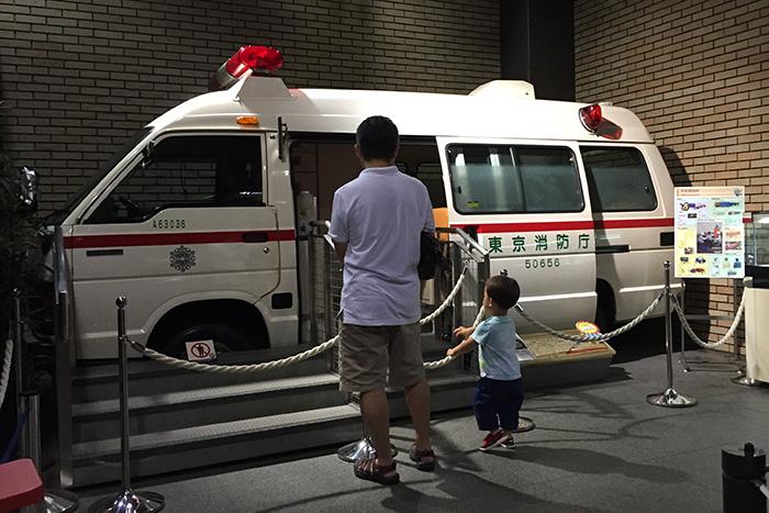 東京消防庁の救急車