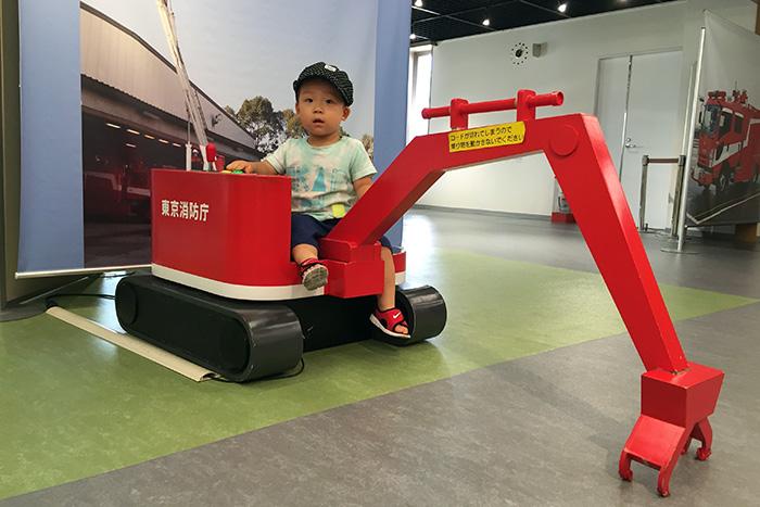 子供用の消防車両(消防博物館 東京消防庁)