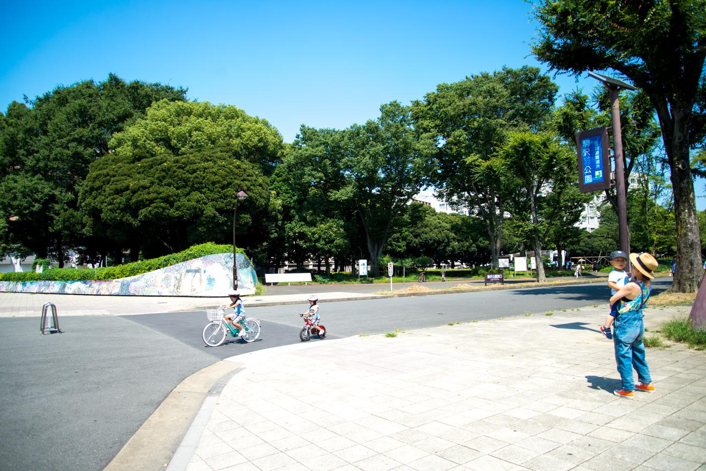 西口入口(駒沢オリンピック公園)
