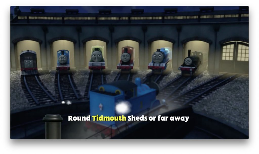 Tidmouth Sheds
