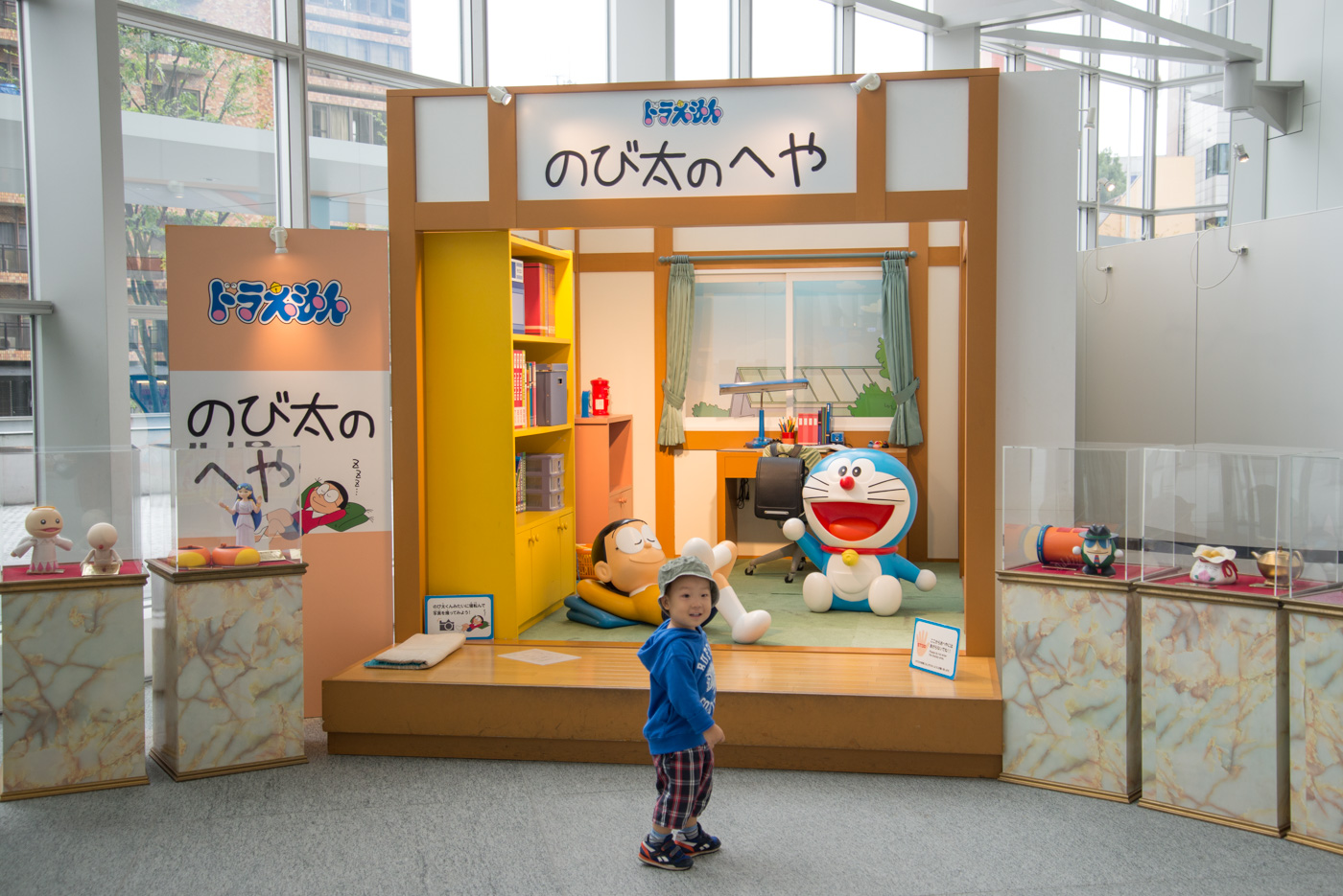 テレビ朝日本社1F、のび太の部屋