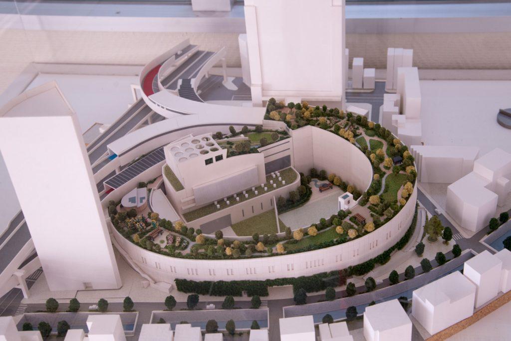 目黒天空庭園 完成模型