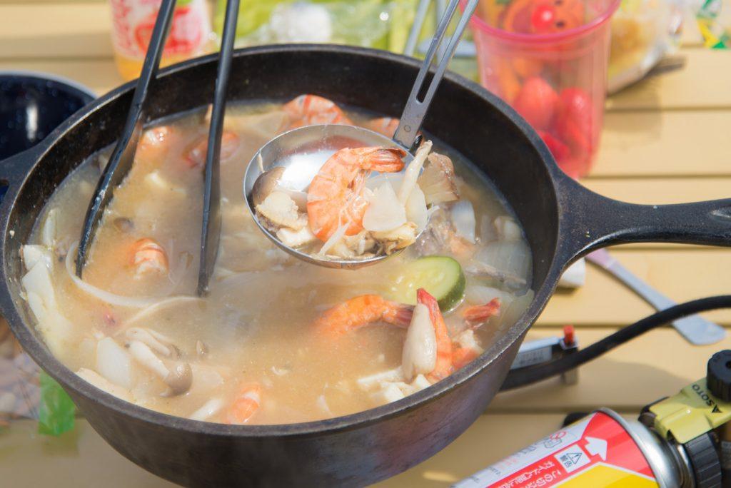 魚介類のスープ(アクアパッツァ)