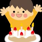 3歳 誕生日ケーキ
