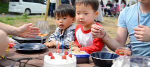 鼓太郎3歳の誕生日