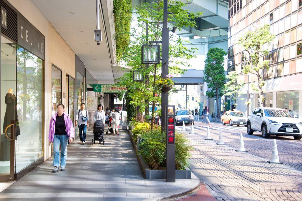 玉川髙島屋ショッピングセンター 本館から西館へ