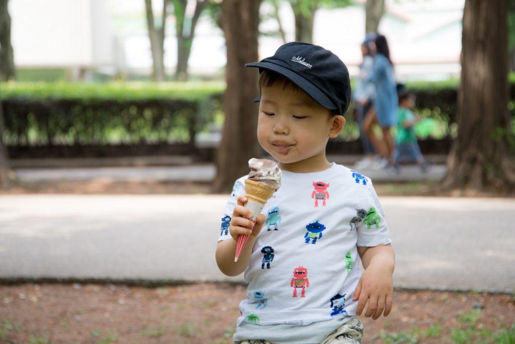 ソフトクリーム - 東京都立砧公園(世田谷区)