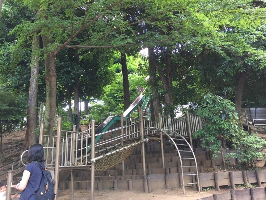 中根公園 すべり台