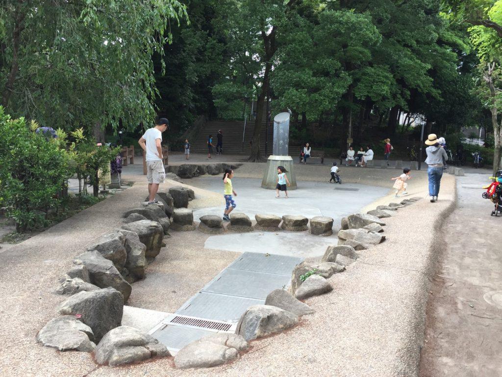 中根公園 じゃぶじゃぶ池