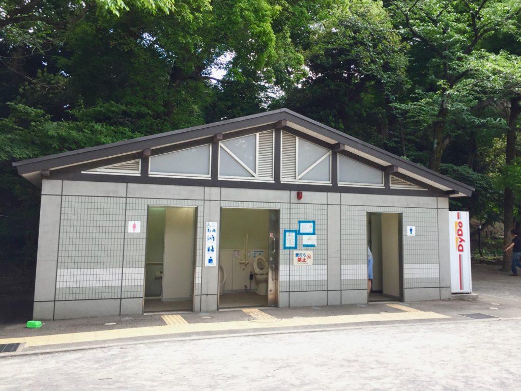 中根公園 トイレ