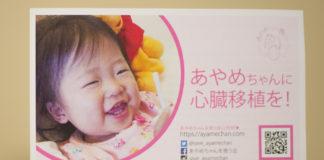2歳のあやめちゃんを救う会。海外で心臓移植手術を受けるための募金活動を展開、目標まであと少し!