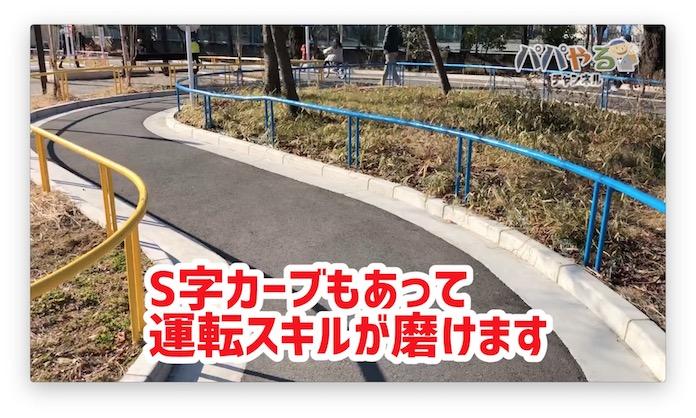 S字カーブ 衾町公園(東京都目黒区)