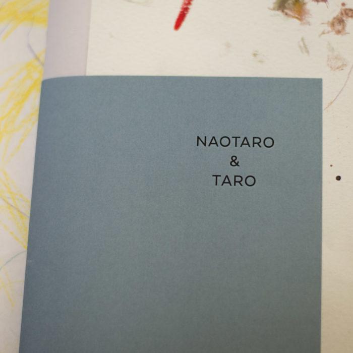 TAROとNAOTAROの絵画展(5歳の男の子二人の展示会)