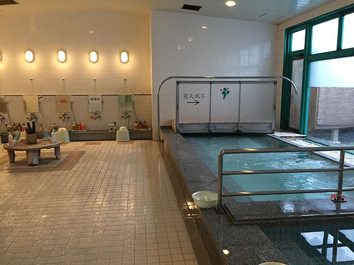 ホテル「サンシャインサザンセト」の内風呂