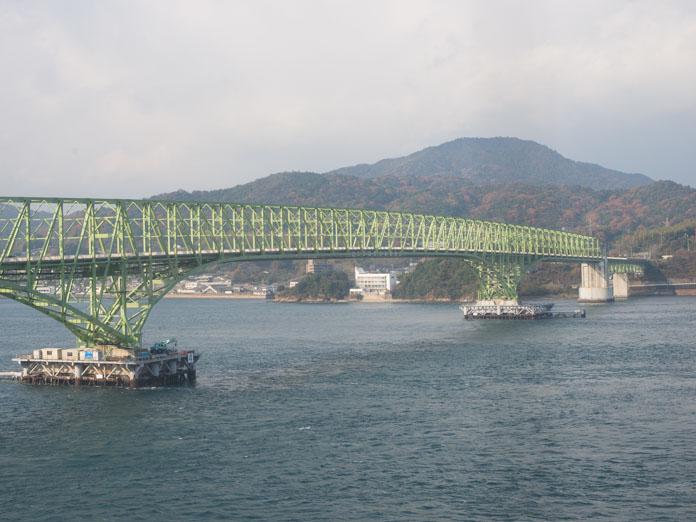 大島大橋の鉄橋