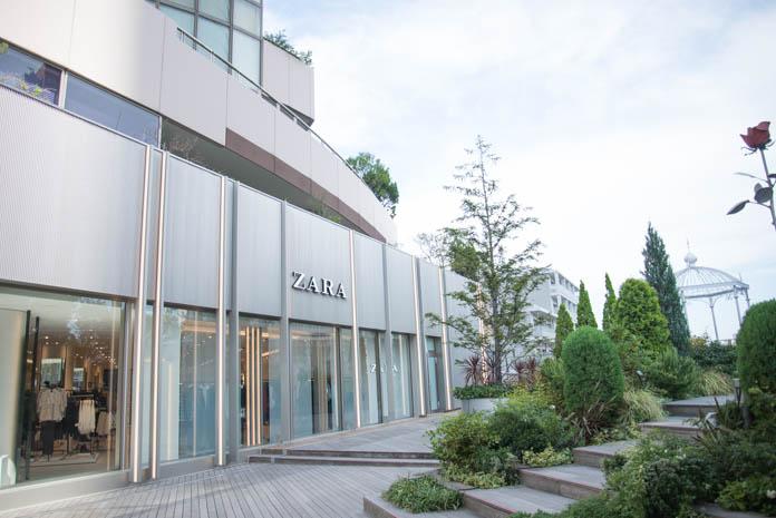 ZARA 六本木店外観