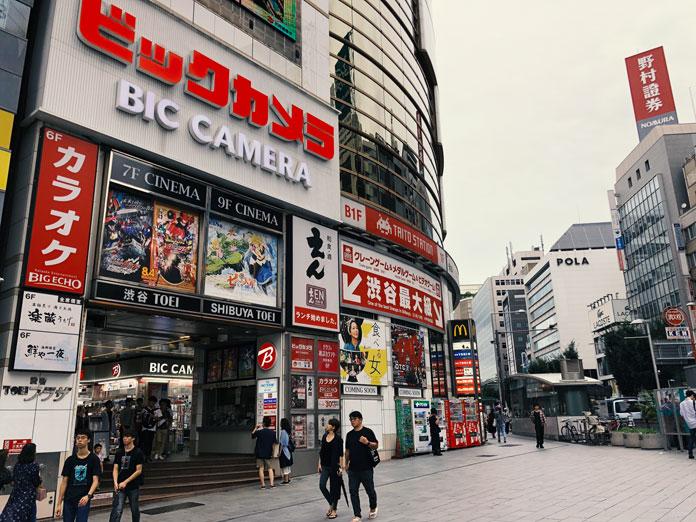 渋谷TOEI外観