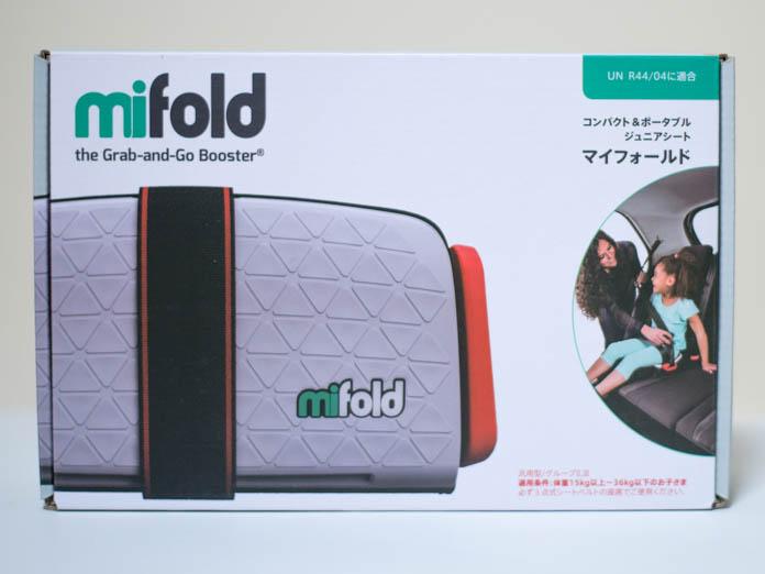 マイフォールド mifold 外箱表面