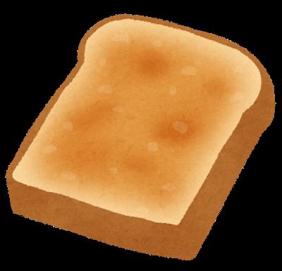 いい色に焼けた食パン