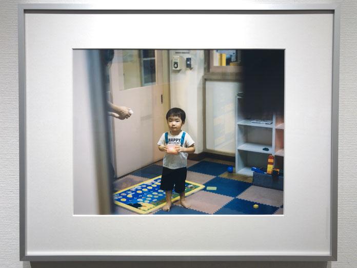 保育園のお迎え 幡野広志 作品展「優しい写真」