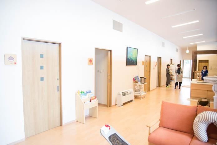 「産前産後ケアセンター ママの里」 2F 共有スペース