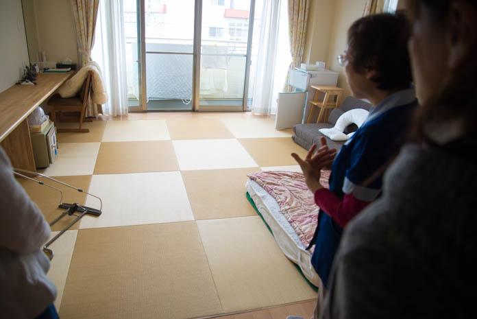 「産前産後ケアセンター ママの里」 宿泊用の和室