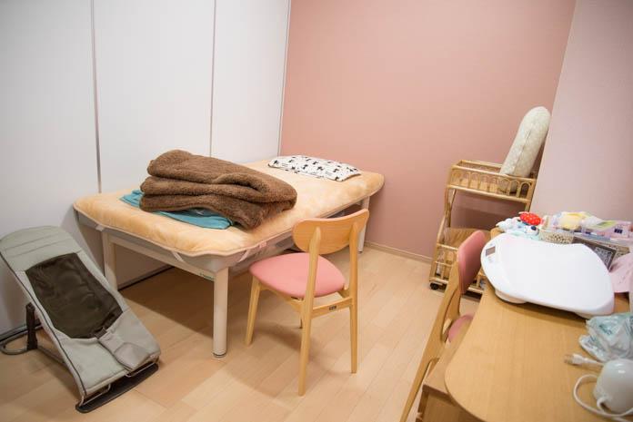 「産前産後ケアセンター ママの里」 相談室
