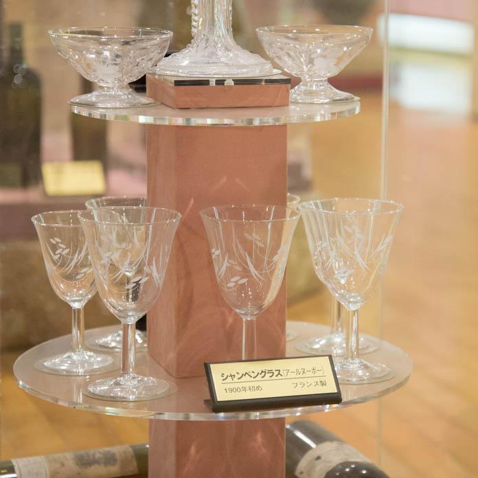シャンペングラス / アール・ヌーヴォー(1900年代初めフランス製)