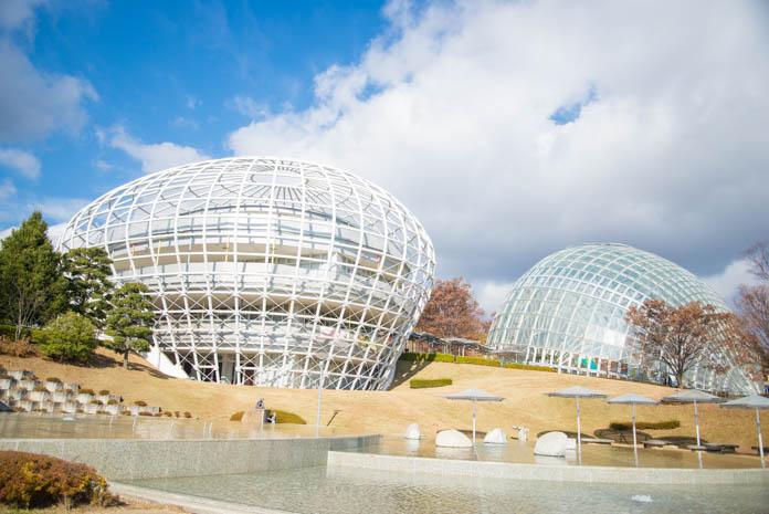 山梨県笛吹川フルーツ公園 わんぱくドーム