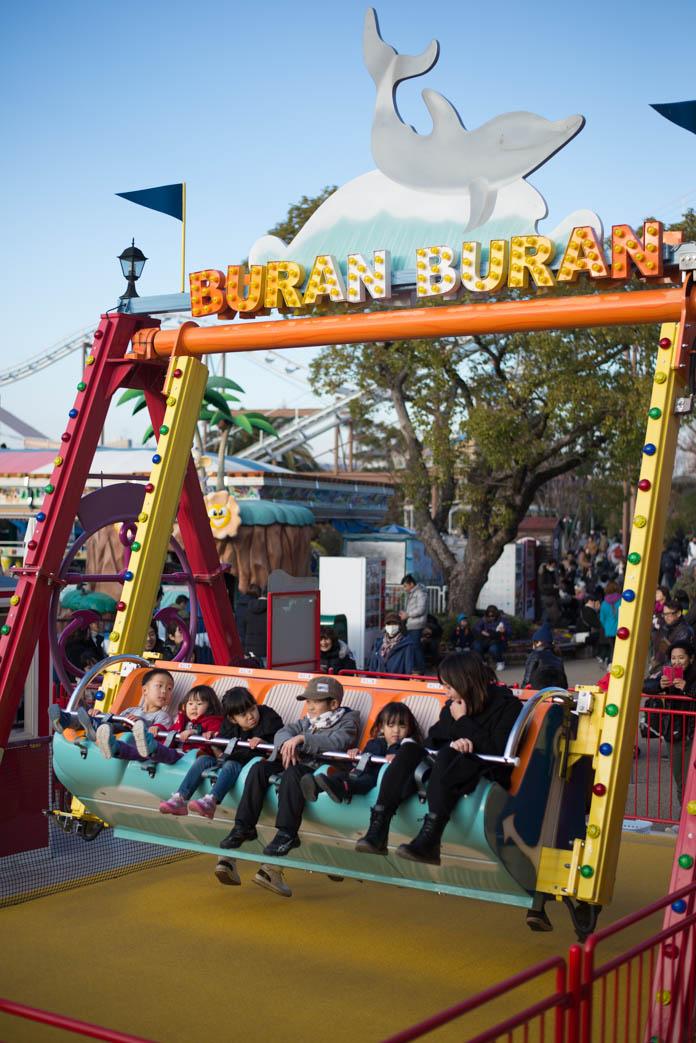ひらかたパークの巨大ブランコ BURAN BURAN