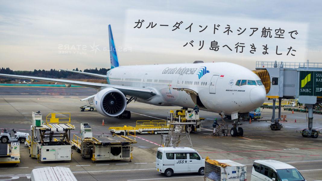 ガルーダインドネシア航空の飛行機(成田空港)