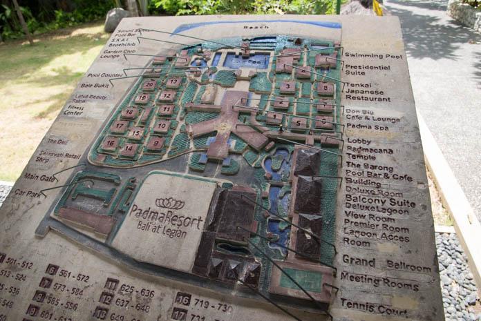 パドマ リゾート レギャン (Padma Resort Legian) の地図