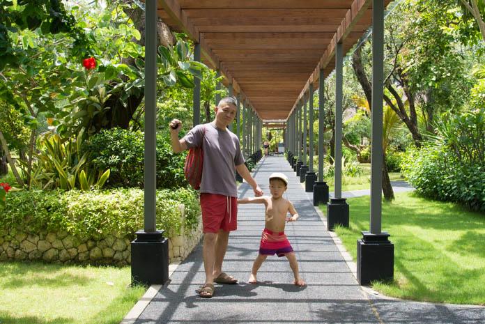 パドマ リゾート レギャン (Padma Resort Legian) で親子散策
