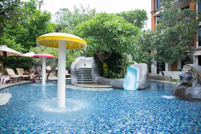パドマ リゾート レギャン (Padma Resort Legian) ファミリープール すべり台