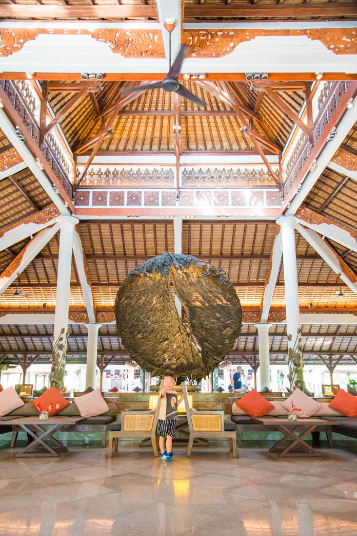 Padma Resort Legian(パドマ リゾート レギャン)のロビー
