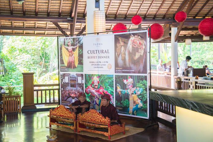 Padma Resort Legian(パドマ リゾート レギャン)の生演奏