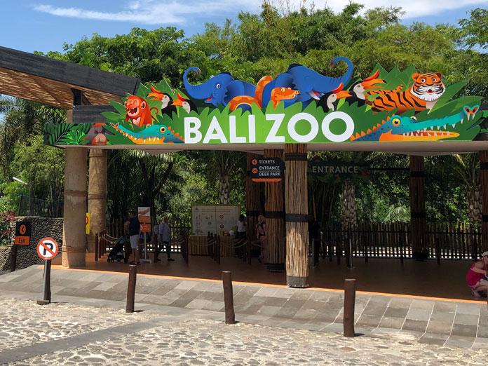 Bali Zoo(バリ動物園)入り口