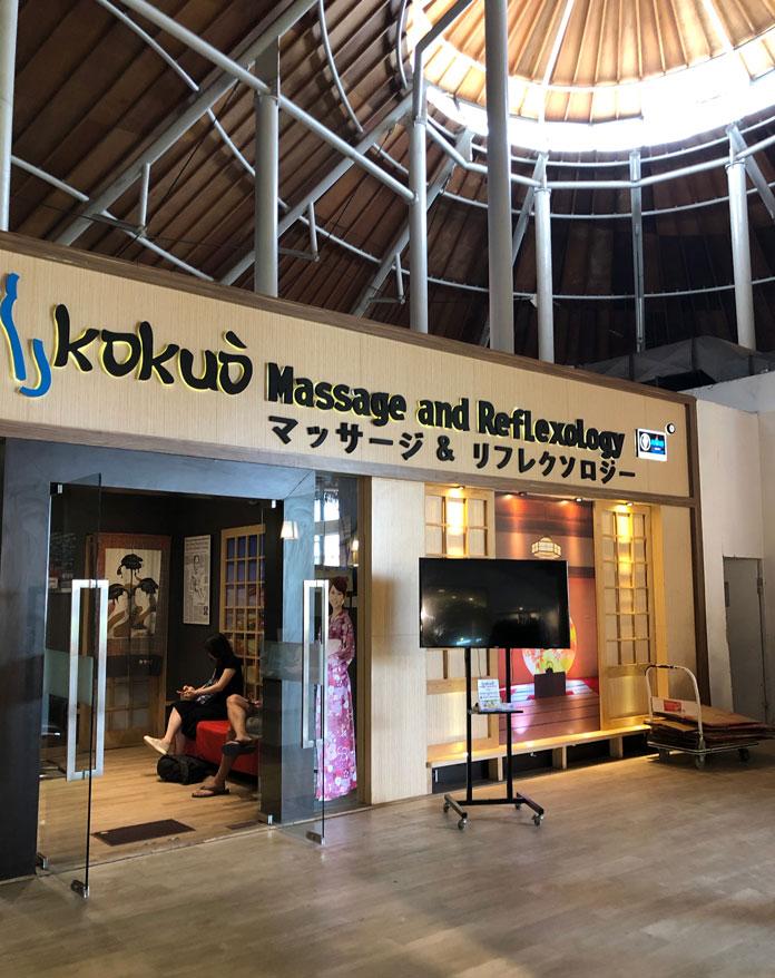 バリ島の街にも日本語表記が多い