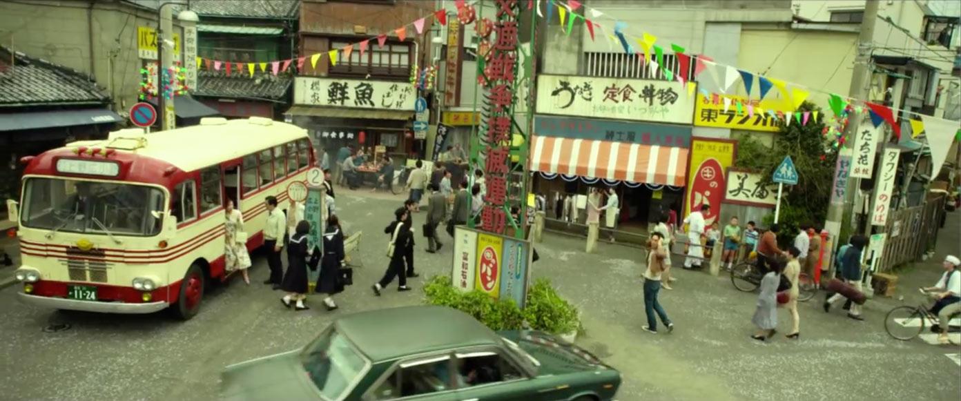 昭和48年の浅草の街並み