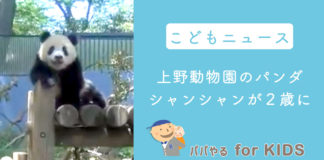 子どもニュース 上野動物園のパンダ・シャンシャンが2歳に